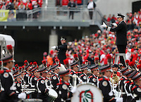 The Ohio State Marching Band performs under the direction of Christopher Hoch before the NCAA football game between the Ohio State Buckeyes and the Michigan Wolverines at Ohio Stadium on Saturday, November 26, 2016. (Columbus Dispatch photo by Jonathan Quilter)