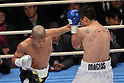 (L to R) Koki Kameda (JPN), Mario Macias (MEX), December 7, 2011 - Boxing : Koki Kameda of Japan and Mario Macias of Mexico during the WBA bantamweight title bout at Osaka Prefectural Gymnasium in Osaka, Japan. (Photo by Akihiro Sugimoto/AFLO SPORT) [1080]