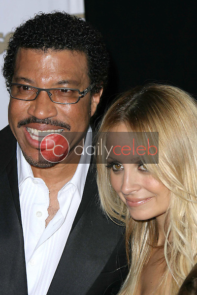 Lionel Richie and Nicole Richie<br />