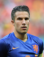 FUSSBALL WM 2014  VORRUNDE    Gruppe B     Spanien - Niederlande                13.06.2014 Robin van Persie (Niederlande)
