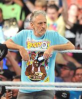 AUG 21 Jon Stewart At WWE SummerSlam