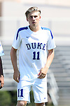 28 August 2016: Duke's Max Moser (AUT). The Duke University Blue Devils hosted the University of North Carolina Asheville Bulldogs at Koskinen Stadium in Durham, North Carolina in a 2016 NCAA Division I Men's Soccer match. Duke won the game 5-1.