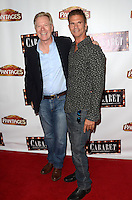 HOLLYWOOD, CA - JULY 20: William R. Moses and Lorenzo Lamas at the opening of 'Cabaret' at the Pantages Theatre on July 20, 2016 in Hollywood, California. Credit: David Edwards/MediaPunch