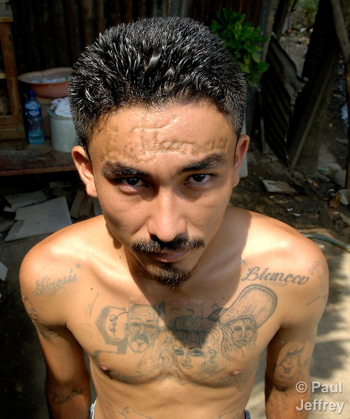 Marked For Life Tattoos And Gangs: Tattoos Mark Former Gang Member