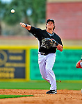 1 March 2009: Florida Marlins' infielder Chris Coghlan in action during a Spring Training game against the St. Louis Cardinals at Roger Dean Stadium in Jupiter, Florida. The Cardinals outhit the Marlins 20-13 resulting in a 14-10 win for the Cards. Mandatory Photo Credit: Ed Wolfstein Photo