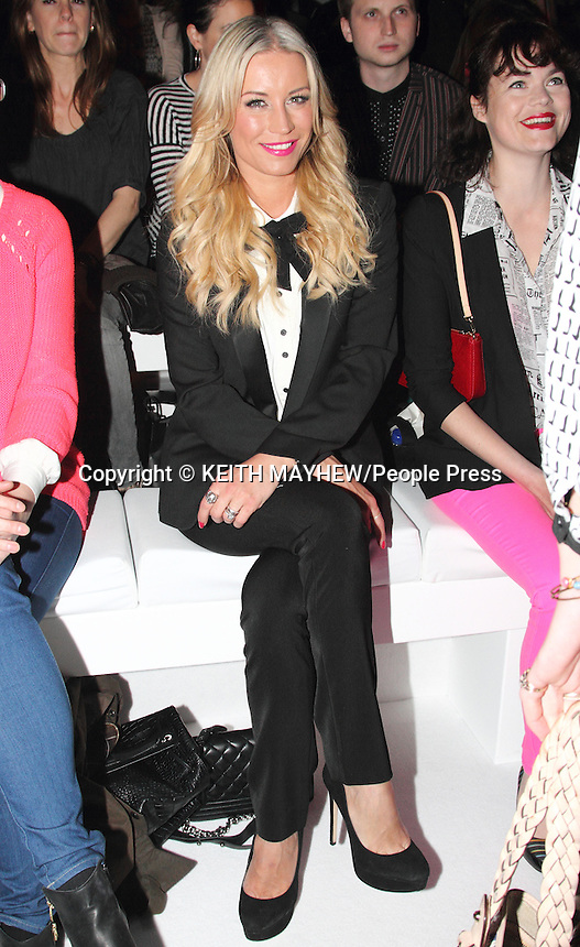 F&F - autumn/winter 2013 collection showcase - Front Row - at Somerset House, London - May 16th 2013..Photo by Keith Mayhew..