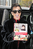 OCT 21 Kris Jenner at Fox & Friends