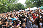 Atmosphere at Rock Steady Crew 36th Year Anniversary Celebration at Central Park's SummerStage, NY