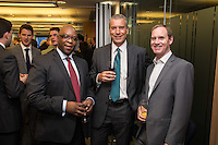 Left to right are Ian Harrison of UKTI, Paul Southby of Geldards and Chris Taylor of Smith Cooper