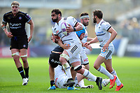 Said Hireche of Brive in possession. European Rugby Challenge Cup Quarter Final, between Bath Rugby and CA Brive on April 1, 2017 at the Recreation Ground in Bath, England. Photo by: Patrick Khachfe / Onside Images