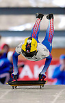 15 December 2006: Ekaterina Mironova from Russia, starts her run at the FIBT Women's World Cup Skeleton Competition at the Olympic Sports Complex on Mount Van Hoevenburg  in Lake Placid, New York, USA. &amp;#xA;&amp;#xA;Mandatory Photo credit: Ed Wolfstein Photo<br />