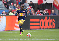 Toronto, Ontario - May 17, 2014: New York Red Bulls midfielder Lloyd Sam #10 in action during a game between the New York Red Bulls and Toronto FC at BMO Field. Toronto FC won 2-0.