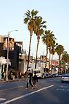 Abbot Kinney Boulevard in Venice, CA