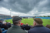 Picture by Allan McKenzie/SWpix.com - 16/05/2017 - Cricket - Royal London One-Day Cup - Yorkshire County Cricket Club v Leicestershire County Cricket Club - Headingley Cricket Ground, Leeds, England - Spectators look on under cloud-heavy skies at Headingley as Yorkshire play Leicestershire.