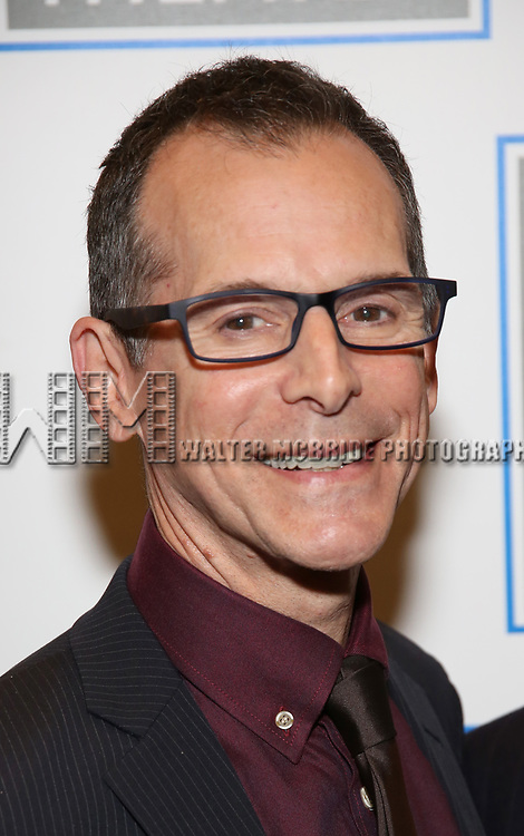 T. Ryder Smith attends the Opening Night Performance press reception for the Lincoln Center Theater production of 'Oslo' at the Vivian Beaumont Theater on April 13, 2017 in New York City.