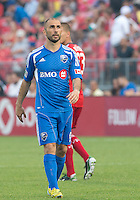 July 3, 2013: Montreal Impact forward Marco Di Vaio #9 in action during an MLS game between Toronto FC and Montreal Impact at BMO Field in Toronto, Ontario Canada.<br /> The game ended in a 3-3 draw.