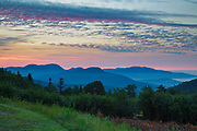 C.L. Graham Wangan Grounds Scenic Overlook along the Kancamagus Highway (route 112), which is one of New England's scenic byways in the White Mountains, New Hampshire USA during the summer months