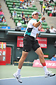 Milos Raonic (CAN), OCTOBER 4, 2011 - Tennis : Men's Doubles at Rakuten Japan Open Tennis Championships in Tokyo, Japan. (Photo by Atsushi Tomura/AFLO SPORT) [1035]