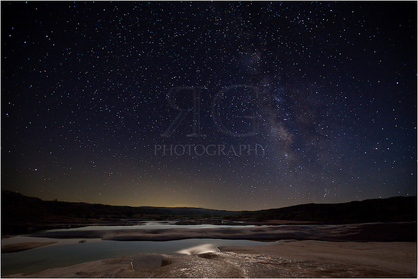 This image of the Milky Way over Pedernales Falls was the product of scouting and research and good weather!