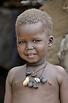 A boy living in the Kubum Camp for internally displaced persons.