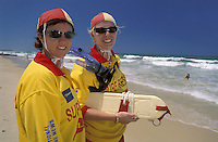 Surf Resque Team.Dicky Beach.Sunshine Coast.Queensland.Australia