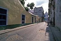 Walking to National Capitol Building,<br />  Old Havana Cuba, Republic of Cuba,