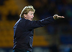 St Johnstone v Motherwell......27.10.13      SPFL<br /> Stuart McCall shouts instructions<br /> Picture by Graeme Hart.<br /> Copyright Perthshire Picture Agency<br /> Tel: 01738 623350  Mobile: 07990 594431
