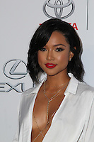 BURBANK, CA - OCTOBER 22: Karrueche Tran attends the Environmental Media Association 26th Annual EMA Awards Presented By Toyota, Lexus And Calvert at Warner Bros. Studios on October 22, 2016 in Burbank, California (Credit: Parisa Afsahi/MediaPunch).