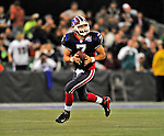 7 December 2008: Buffalo Bills' quarterback J.P. Losman in action against the Miami Dolphins during the first regular season NFL game ever played in Canada. The Dolphins defeated the Bills 16-3 at the Rogers Centre in Toronto, Ontario. ..Mandatory Photo Credit: Ed Wolfstein Photo