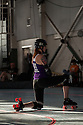 "The 2012 Women's Flat Track Derby Association (WFTDA) Western Region Playoffs was held at Craneway Pavillion in Richmond, California on September 21-23. WFTDA, the international governing body of women's flat track roller derby, ""promotes and fosters the sport of women's flat track roller derby by facilitating the development of athletic ability, sportswomanship, and goodwill among member leagues."""