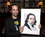 Lin-Manuel Miranda Sardi's Portrait unveiled