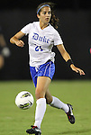 15 September 2011: Duke's Gilda Doria. The Duke University Blue Devils defeated the College of Charleston Cougars 3-0 at Koskinen Stadium in Durham, North Carolina in an NCAA Division I Women's Soccer game.