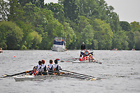 Thames Ditton Regatta..Wallingford Rowing Club vs Windsor Boys (79):.J14 B Boys 4X+.cox Ed Mills.4 Tom Brock.3 Dan Wilkinson.2 Arthur Arnould.1 Robin Bowen-Bowker.Boat Why