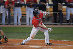 Mississippi's Taylor Hashman bats vs. UT-Martin  college baseball at Oxford-University Stadium in Oxford, Miss. on Wednesday, April 28, 2010.