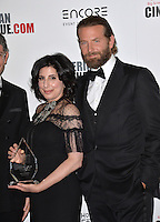 BEVERLY HILLS, CA. October 14, 2016: Sue Kroll &amp; Bradley Cooper at the 30th Annual American Cinematheque Award gala honoring Ridley Scott &amp; Sue Kroll at The Beverly Hilton Hotel, Beverly Hills.<br /> Picture: Paul Smith/Featureflash/SilverHub 0208 004 5359/ 07711 972644 Editors@silverhubmedia.com