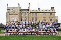 Bath Rugby players pose for a portrait at a Bath Rugby photocall. Bath Rugby Media Day on December 1, 2015 at Farleigh House in Bath, England. Photo by: Rogan Thomson for Onside Images