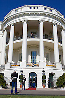 US marinesceremonial duty at The White House, Washington DC