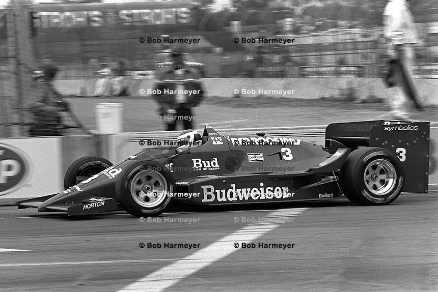 Bobby Rahal 1986 Indycar Long Beach Bob Harmeyer