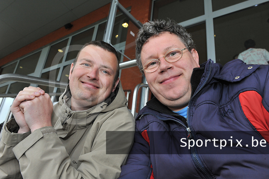 Lierse U16 - Standard de Liege U16 : David Catry en Maryan Mahieu.foto DAVID CATRY / Nikonpro.be
