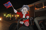 Colonel Too at Christmas parade in Oxford, Miss. on Monday, December 6, 2010.