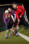 Drink Awareness Wales.Carmarthen Hockey Club.Shannon Chapman, Eleanor Phillips & Kate Williams.04.12.12..©Steve Pope