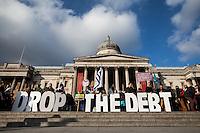 "15.02.2015 - ""Let Greece Breathe - Mass Rally in Trafalgar Square"""