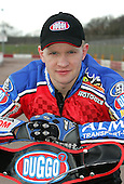 Krzysztof Kasprzak of Lakeside Hammers Speedway Team - Lakeside Hammers Press Day at The Arena Essex Raceway, Thurrock - 07/03/07 - MANDATORY CREDIT: Rob Newell/TGSPHOTO