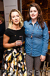 Shauna O'Connor and Lorraine O'Gorman, Killorglin, who attended the Think Pink Fashion Fundraiser held at Benners Hotel, Tralee on Thursday night, October 27th last.