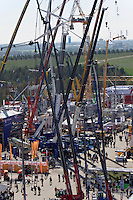 With over 500.000 visitors, bauma in Munich ist the World's biggest tri-annual mining, building and construction industry fair, and also the World's largest trade fair regarding exhibition space.