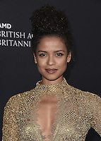 BEVERLY HILLS, CA - OCTOBER 28:  Gugu Mbatha-Raw at the 2016 BAFTA Los Angeles Britannia Awards at the Beverly Hilton Hotel on October 28, 2016 in Beverly Hills, California. Credit: MediaPunch