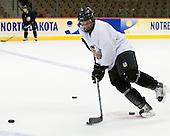 Kyle Radke (North Dakota 26) - The 2008 Frozen Four participants practiced on Wednesday, April 9, 2008, at the Pepsi Center in Denver, Colorado.
