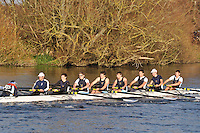 153 .RDG-Joyce .IM1.8+ .Reading RC. Wallingford Head of the River. Sunday 27 November 2011. 4250 metres upstream on the Thames from Moulsford railway bridge to Oxford University's Fleming Boathouse in Wallingford. Event run by Wallingford Rowing Club.