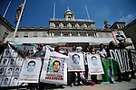 Parents of missing 43 students of Ayotzinapa in New York City Hall