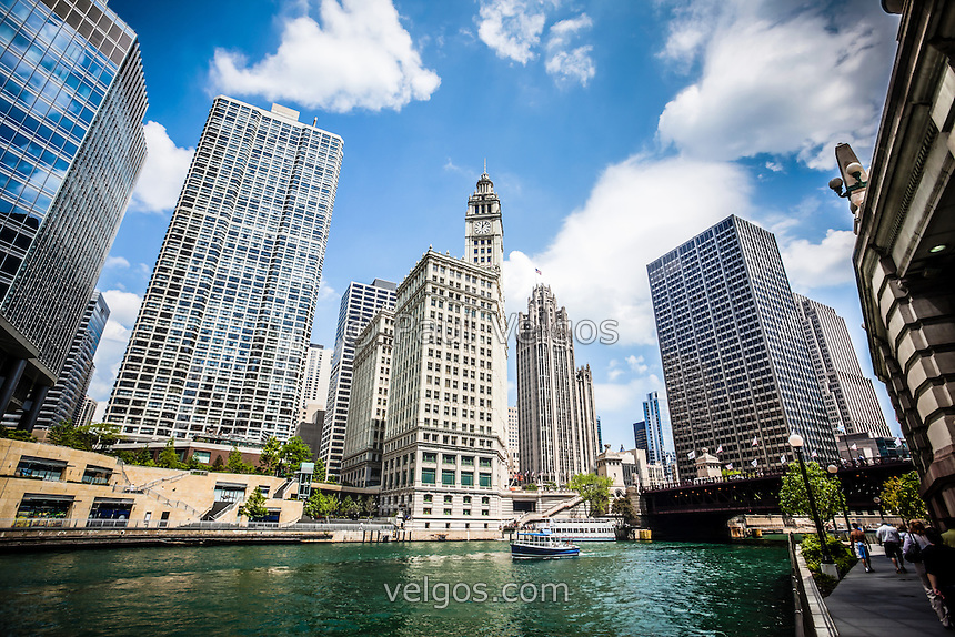 Along The Chicago River at